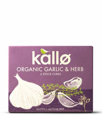 Organic Garlic & Herb Stock Cubes