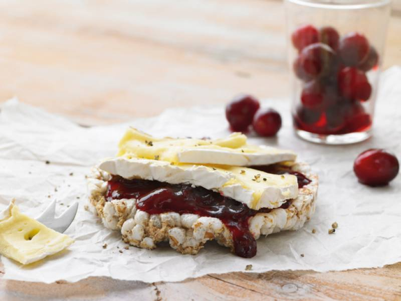 Yippee-dee-dee with cranberries & brie!