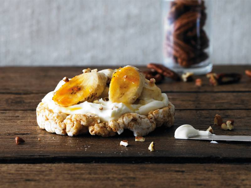 Just a dream with bananas & cream!
