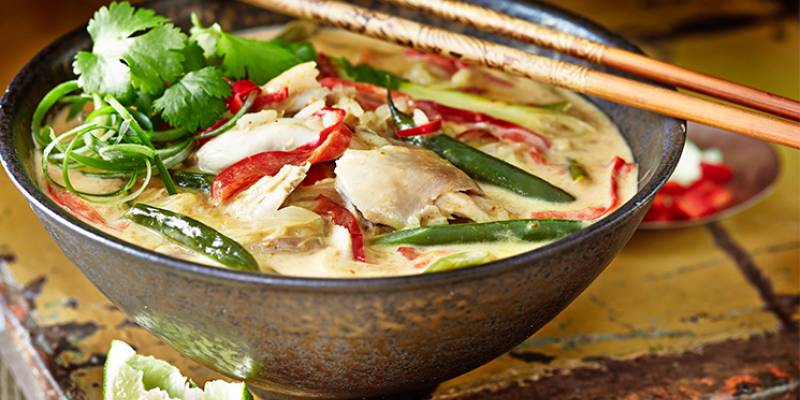 In a hurry? Try Thai soup curry
