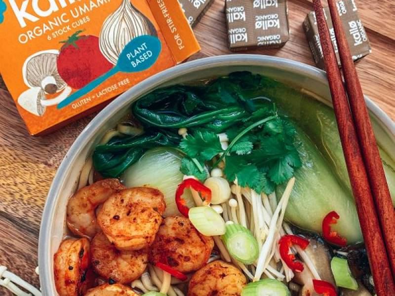 """Easy Prawn Ramen"" by @thefitlondoner"