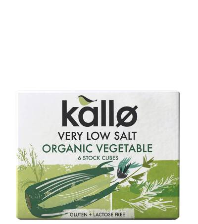 Very Low Salt Organic Vegetable Stock Cubes