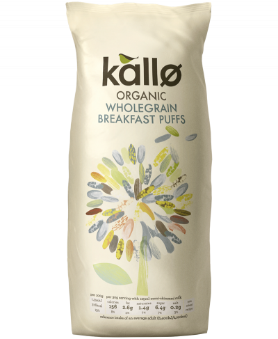 Organic Wholegrain Puffed Rice Cereal