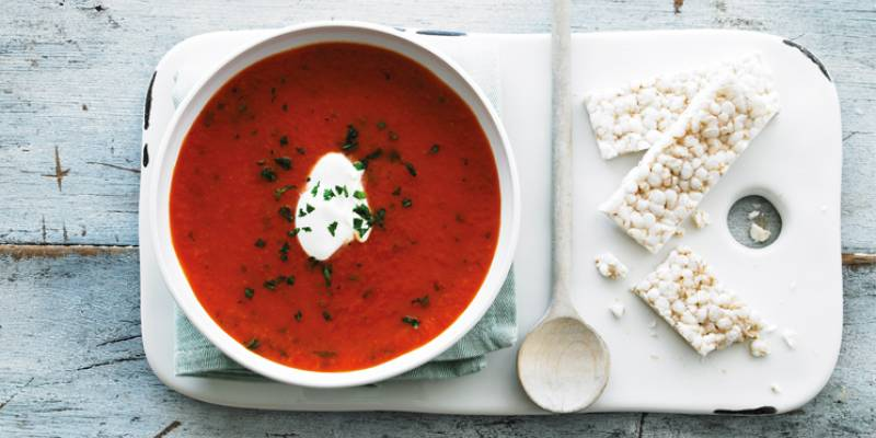 Souper-duper with tomato soup!