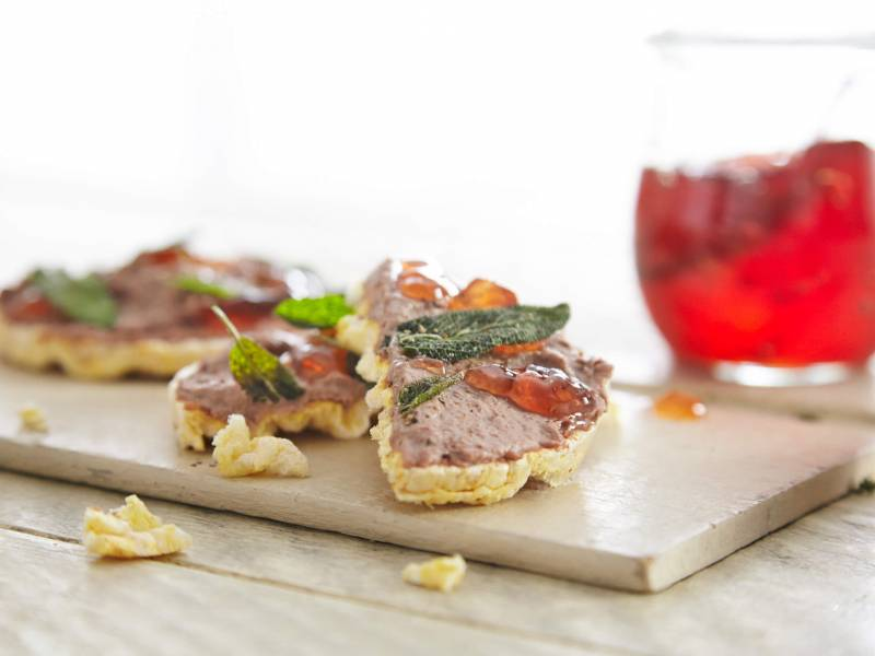 Moreish pâté, apple jelly – just the thing to fill your belly