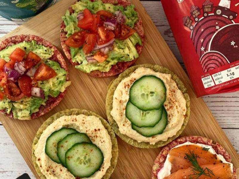 """Savoury Veggie Cake Toppings"" by @thefitlondoner"